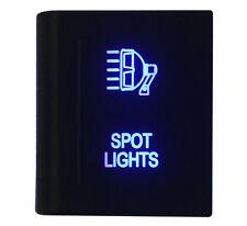 12V 3A Blue SPOT LIGHTS Push Button Switch On-off for VM Amarok Switch Left Side