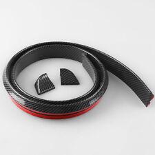 3D Carbon Fiber Car Rear Wing Lip Spoiler Tail Trunk Roof Trim Accessorie