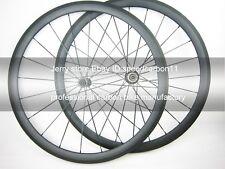1275g wheel set 38mm clincher carbon cycle wheel 700C bitex hub light aero spoke