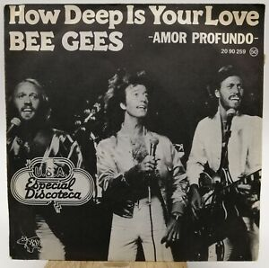 Bee Gees – How Deep Is Your Love / Can't Keep A Good Man - Single 1977 Spain Y