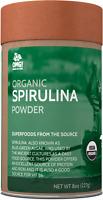 OMG! Superfoods Organic Spirulina Powder - USDA Certified - 8 oz