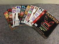 1994 Playboy Magazines-11 Months-Missing April