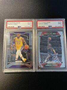 LeBron James - 2 Card PSA 9 Lot #6