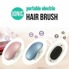 Electric Ionic Hair Comb Brush Head Massage Scalp Comb Relax Travel Frizz Free