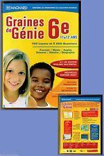 CD-Rom - Graines de Génie 6e -11 et 12 ans - Occasion, 2006..