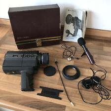 Vintage Bell & Howell Filmsonic Macro 8 Super 8 Movie Cine Camera 1238 + Acc.
