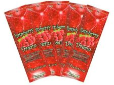5 Packets of Raspberry Dream 99x Bronzer Tanning Lotion by Ultimate