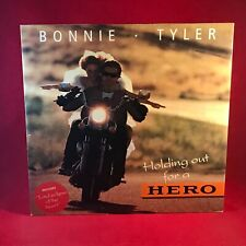 """BONNIE TYLER Holding Out For A Hero 1991 UK Vinyl 12"""" Single levi Footloose mix"""