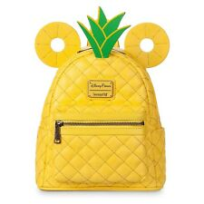 New Mickey Mouse Pineapple Mini Backpack by Loungefly -Dole Whip - Disney World?