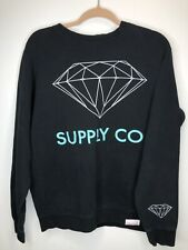 diamond supply co Crewneck Sweatshirt Mens Size Large