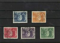 sweden 1928 mounted mint+used stamps set ref 7277