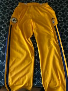 PAUL GEORGE NBA Pacers Game worn used warmup pants 2013 Eastern Conference Final