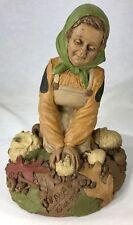 """Tom Clark Gnome Ava Harvest #2041 Edition #45 Cairn Studios Coa & Story Card 8"""""""