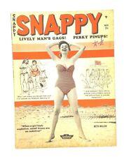 Snappy Magazine Nov 1960 Bill Ward Visits Alaska Wenzel Bunny Yeager Humorama