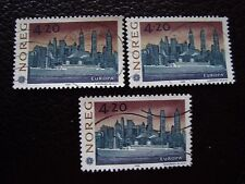 NORVEGE - timbre yvert et tellier n° 1054 x3 obl (A30) stamp norway (A)