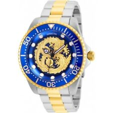 Invicta 26491 47mm Pro Diver Dragon Dial Automatic Stainless Bracelet Mens Watch