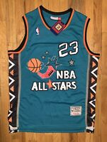 Michael Jordan #23 Throwback 1996 All Star Game Jersey Men's Size 2XL