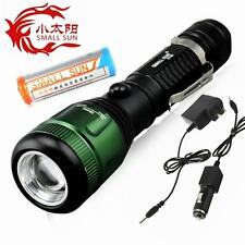 SMALL SUN ZY-G5 Zoomable CREE XPE LED 1000Lm 18650 TACTICAL Flashlight Torch
