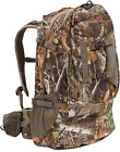Tactical Hunting Backpack with Bow Rifle Holder Carry Camo Archery Day Pack