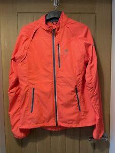 Karrimor X-Lite Womens Orange Running Jacket/Gilet Size 14