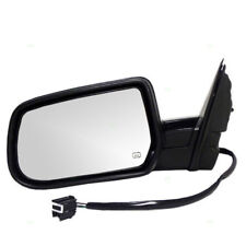 10-14 Chevy Equinox Power Heated Black Folding Rear View Mirror Left Driver Side