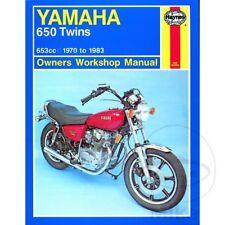 Yamaha XS 650 1981-1983 Haynes Service Repair Manual 0341