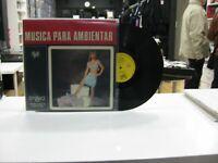 Musica Für Ambientar LP Spanisch Mark Wirtz Orchestra 1967 Sexy Nude Cover