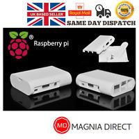 White Portable Housing Case Box Enclosure Raspberry Pi 2/3 B -  FAST UK DISPATCH
