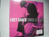 CHET BAKER Sings & Plays UK double LP 2011 180g  new mint sealed vinyl