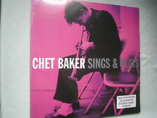 CHET BAKER Sings & Plays UK double LP 2011 180g  new mint sealed vinyl