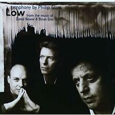 Philip Glass - The Low Symphony CD 1993 Point Music Bowie Eno D101398 438150-2