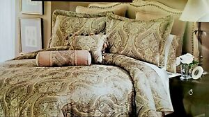 New, luxurious CORSICA 8-piece California king size Bed Ensemble by LIFESTYLES