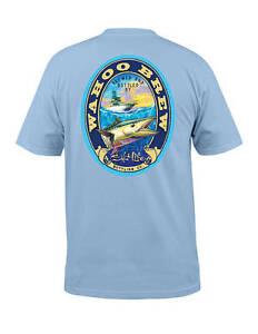Salt Life Men's Wahoo Brew Short Sleeve Graphic Pocket Tee T-Shirts New NWT