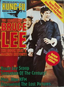 Bruce Lee Magazine,Collectors Edition, Free Poster, Kung Fu