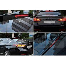 Rear Glass Roof Spoiler Black Painted For HYUNDAI 2014 - 2018 Genesis Sedan G80