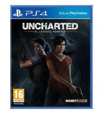 "Juego Sony PS4 ""uncharted Legacy"""