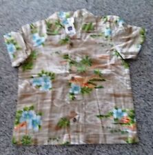 BABY GAP BOY'S SHORT SLEEVE SHIRT 100% COTTON SIZE 5XL/5TG - NEW WITH TAGS