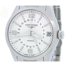 Longines Conquest Classic Men's Automatic SS Date GMT Silver Dial L2.799.4.76.6