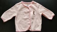 Gymboree Infant Girls' LS Puppy Themed Pink Cardigan 3-6M EUC