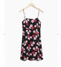 & Other Stories Cami Strap Open Back Tie Dress