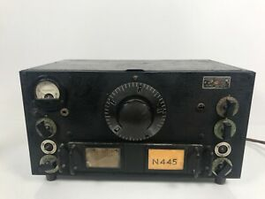 National HRO HAM High Frequency Receiver