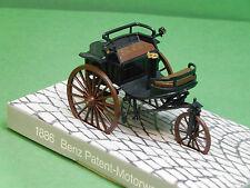Benz Patent Motorwagen 1886 schwarz Cursor Plastikmodell Modellfahrzeug