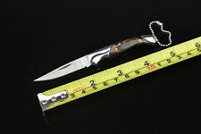 Small Wolf Knife Folding Knife With key chain Outdoor Sports Fishing Tool Saber
