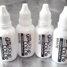 NEW 1 OZ. WHITE Liquid Color Dye Fishing Soft Plastic Bait Lure Making plastisol