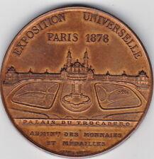 EXPOSITION UNIVERSELLE PARIS 1878,PALAIS du TROCADERO ADMIN. des MONNAIES