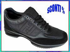 SCARPE UOMO classiche sportive sneakers blu o nere tipo hogan
