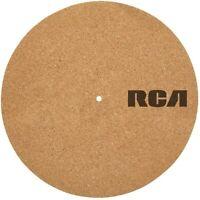 RCA Plattentellerauflage für Plattenspieler Kork 30cm XYZ