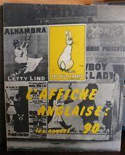 L' Affiche anglaise les années 90, Musée des arts-décoratifs, 1972
