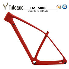 29er Carbon Fiber Mountain Bike Frames FM-M009 Black/Red MTB Bicycle Frameset