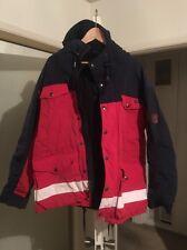Men's Polo Ralph Lauren Ski Coat Parka Jacket Winter Leather Patch Medium M